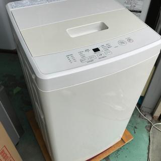 【5kg洗濯機】2020年製☆高年式☆シンプルで可愛い無印…
