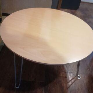 ニトリ 折り畳み式ローテーブル[中古品]