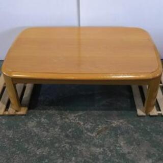 ☆木製シンプル座卓ローテーブル120☆