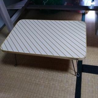 折り畳みローテーブル3