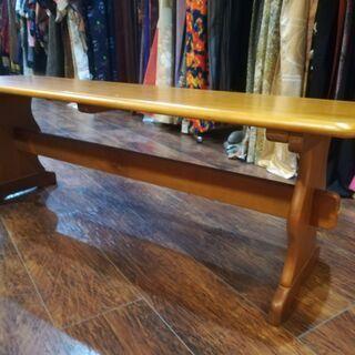 ローテーブル(木製・中古品)