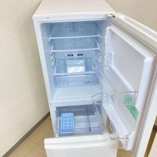 【良品】【地域限定送料無料】冷蔵庫 三菱 146L 2018年製 CRB091210 - 家電
