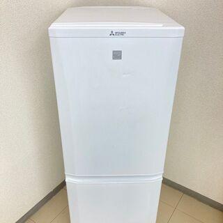 【良品】【地域限定送料無料】冷蔵庫 三菱 146L 201…