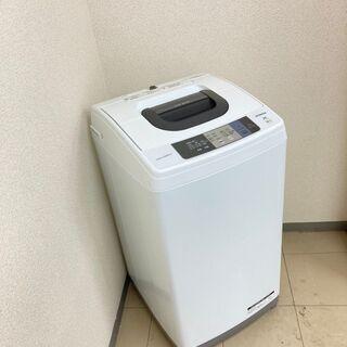 【美品】【地域限定送料無料】洗濯機 日立 5.0kg 2017年製 CSA091209 - 台東区