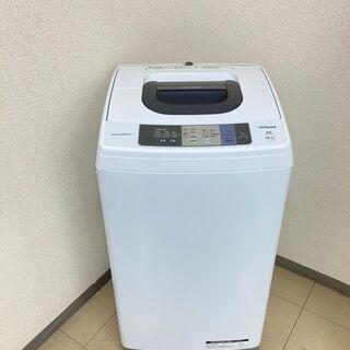 【美品】【地域限定送料無料】洗濯機 日立 5.0kg 2017年製 CSA091209の画像