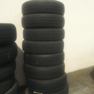 廃タイヤあげます。