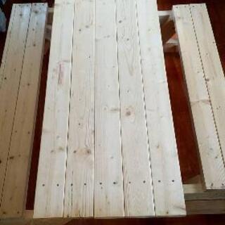 木製のテーブル兼イス🎉問い合わせ多数💦🎉