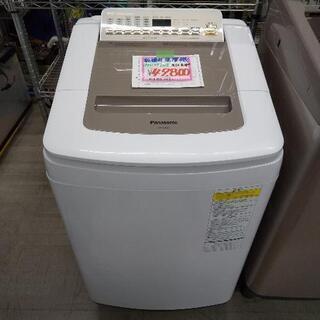 佐賀中古洗濯乾燥機パナソニックの、2018年8K乾燥4.5K税込 - 売ります・あげます