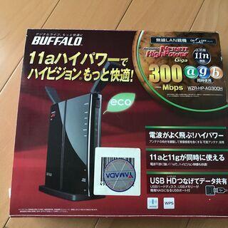 Buffalo AirStation 無線LAN親機 300Mb...