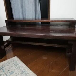 【ネット決済】自作の机、座卓、ハンドメイド