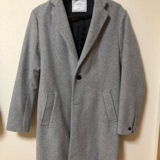 BROWNY チェスターコート Sサイズ グレー 灰色
