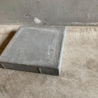 あげます コンクリートブロック 2つ