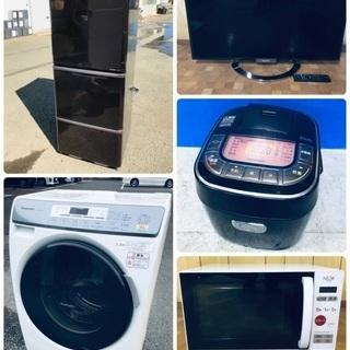 🔔激安家電セット🔔洗濯機・冷蔵庫・レンジ・テレビ・コンロ❗️保証付き✨ 🔥売り尽くしセール🔥お得な無料配送も有り✨  - 立川市