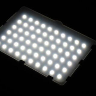 照明キット☆Emart 60LED連続ポータブル写真照明キット カラーフィルター付き EM-LTL-60 - 中野区