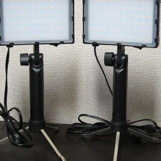 照明キット☆Emart 60LED連続ポータブル写真照明キット カラーフィルター付き EM-LTL-60の画像