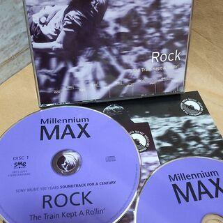 ミレニアム MAX 〈ロック〉2枚組 中古CD