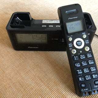 Pioneer コードレス 電話 親機
