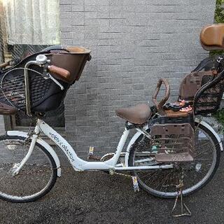 値下げ!価格交渉OK! 子ども乗せ自転車【3人乗り】非電動