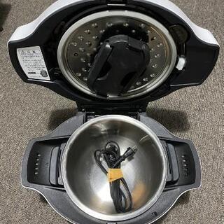 シャープヘルシオホットクック(水なし自動調理鍋)