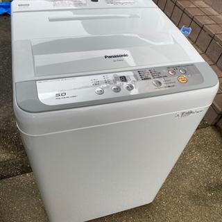 お薦め品‼️パナソニック洗濯機5kg 2017年