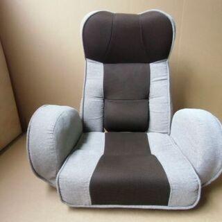 回転座椅子 背もたれ&ヘッドレスト角度調整可能