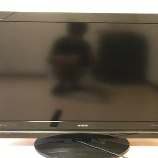 ジャンク 日立 液晶テレビ37型Wooo HDD 2010年式