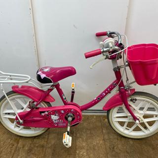 N020★ブリヂスト製★マゼンタ色・子供自転車★防犯登録料込