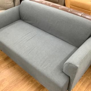 布製2人掛けソファー売ります!