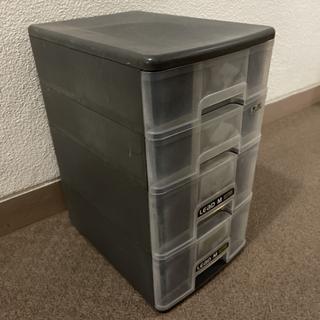 プラスチック収納シェルフ