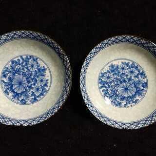 ★  和皿 中皿(約16.5cm) 2枚 未使用保管