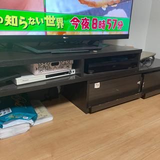 テレビ台 AVボード ブラウン  - 家具