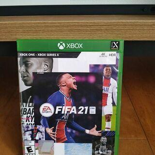 【ネット決済・配送可】XboxONE FIFA 21 多言語対応...