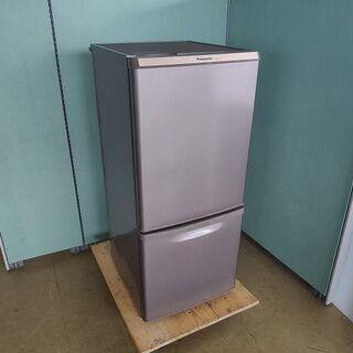 パナソニック NR-B148W-T 2ドア冷蔵庫 ブラウン色『良...