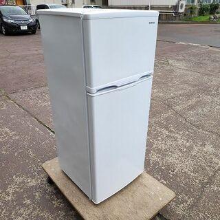 アイリスオーヤマ AF118-W 2ドア冷蔵庫 白色『美品中古』...