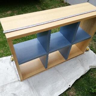 木製棚 750×1110×290 あげますの画像