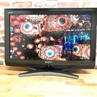 即日受渡❣️お子様用にいかがですか、SHARP26型TVアクオス4500円の画像