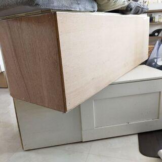 DIY収納ベンチ アロエ 廃材  - 家具