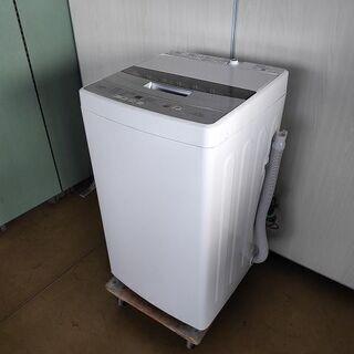 アクア 全自動洗濯機 AQW-S45G『美品中古』2019年式 【リサイクルショップサルフ】の画像