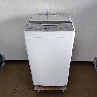 アクア 全自動洗濯機 AQW-S45G『美品中古』2019年式 【リサイクルショップサルフ】 - 長岡市