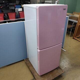 ハイアール JR-NF148A 2ドア冷蔵庫 ピンク色『良品中古』2018年  【リサイクルショップサルフ】の画像