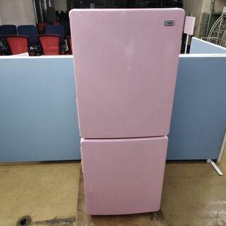 ハイアール JR-NF148A 2ドア冷蔵庫 ピンク色『良品中古』2018年  【リサイクルショップサルフ】 - 長岡市