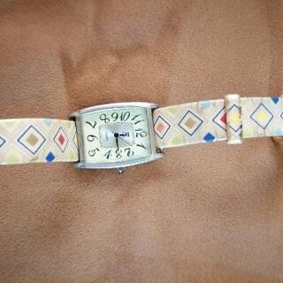 婦人腕時計 角型