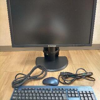 レノボ lenovo モニター ケーブル キーボード マウス