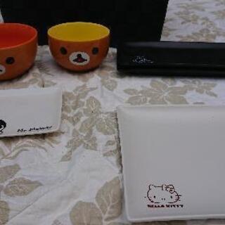 キャラクター食器 まとめ500円 - 足立区