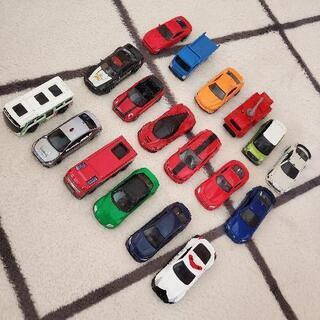 トミカ&ノーブランドミニカー18台