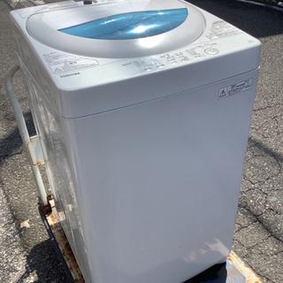 中古 TOSHIBA  全自動洗濯機 5kg 2016