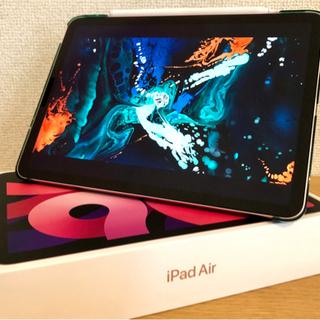 【美品】iPad Air 4 2020&タッチペン・薄型ケース・...