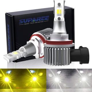 【令和2年最新モデル】SUPAREE HB4 LEDフォグランプ...
