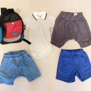 【ネット決済】ベビー80サイズ服とリュックセット