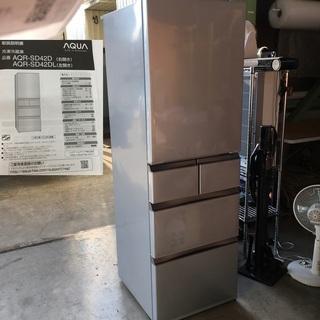 大容量 冷蔵庫【AQUA】 アクア 容量415L 2015…